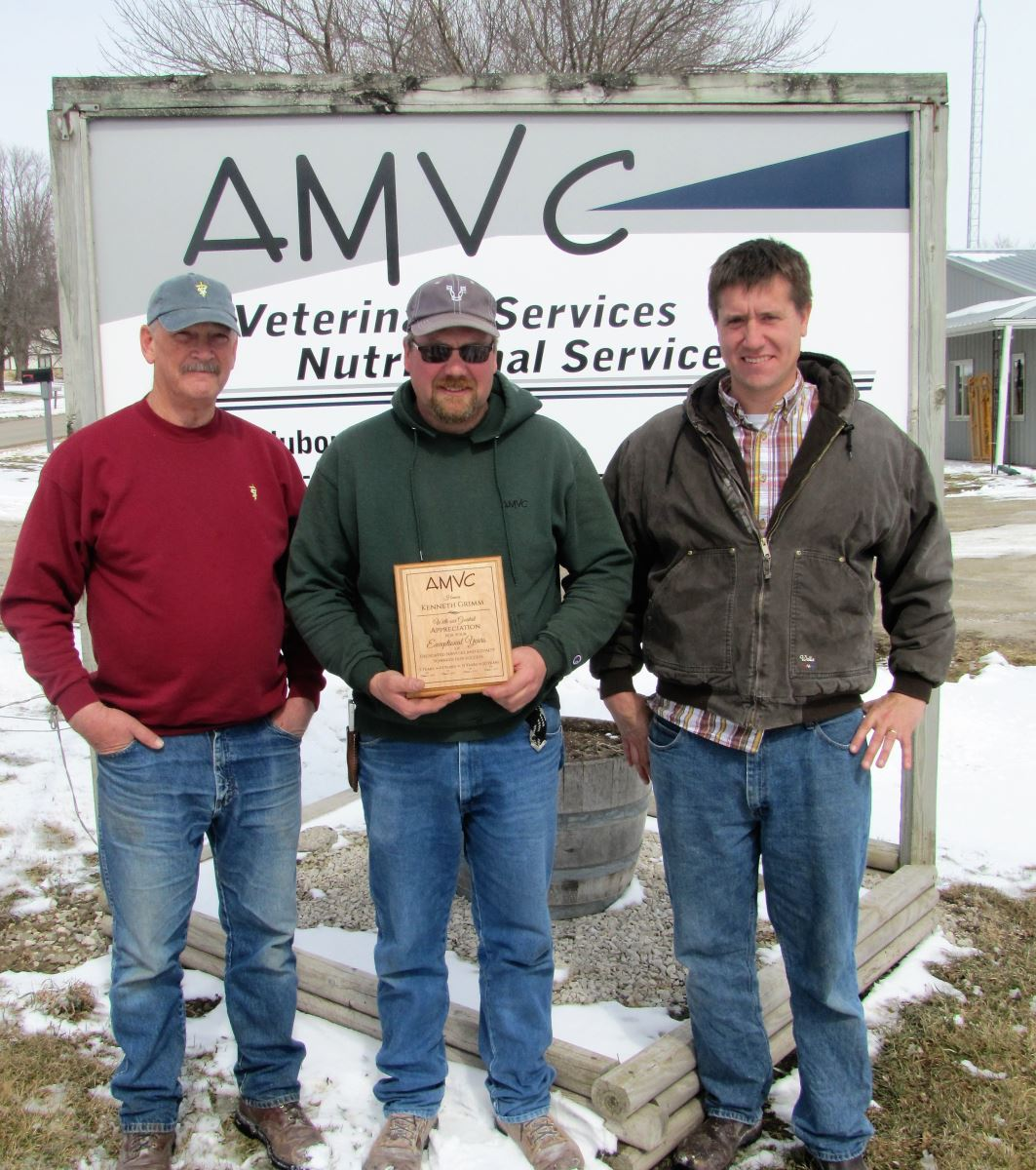 Grimm celebrates 20 years with AMVC