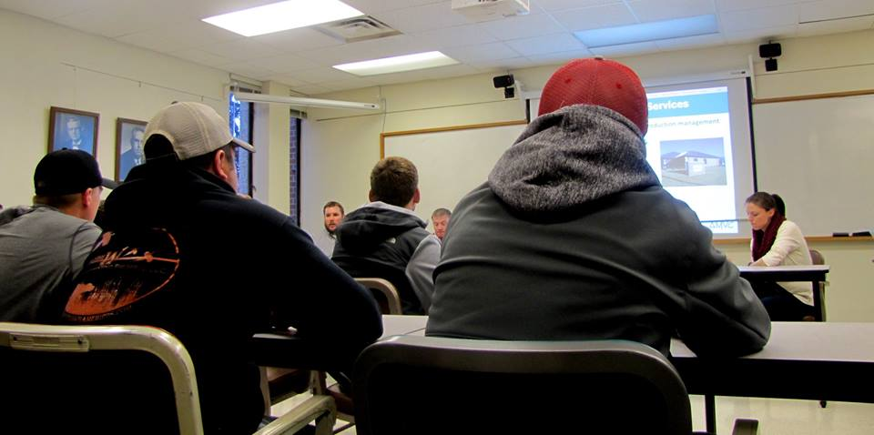 AMVC employees serve on panel for ISU class