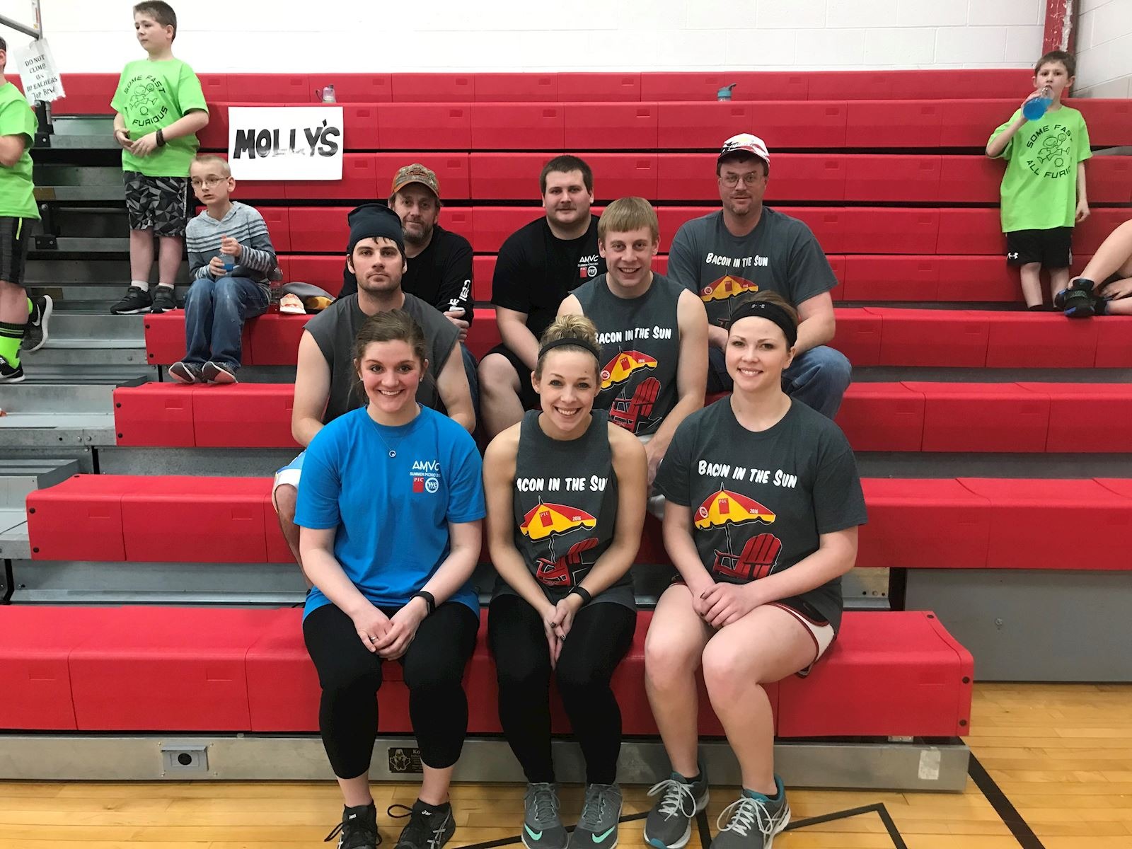 AMVC participates in charity dodgeball tournament