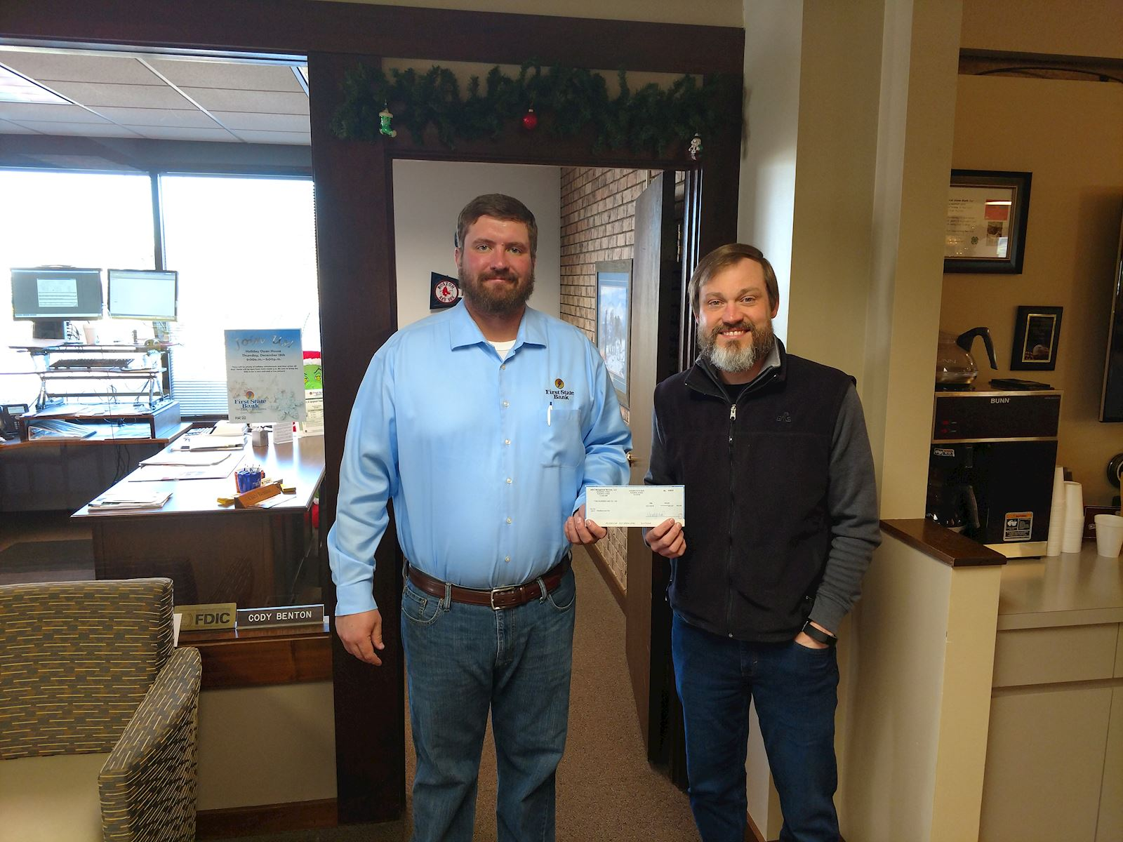 Wheatland Lions Club receives donation in honor of the partners of AMVC