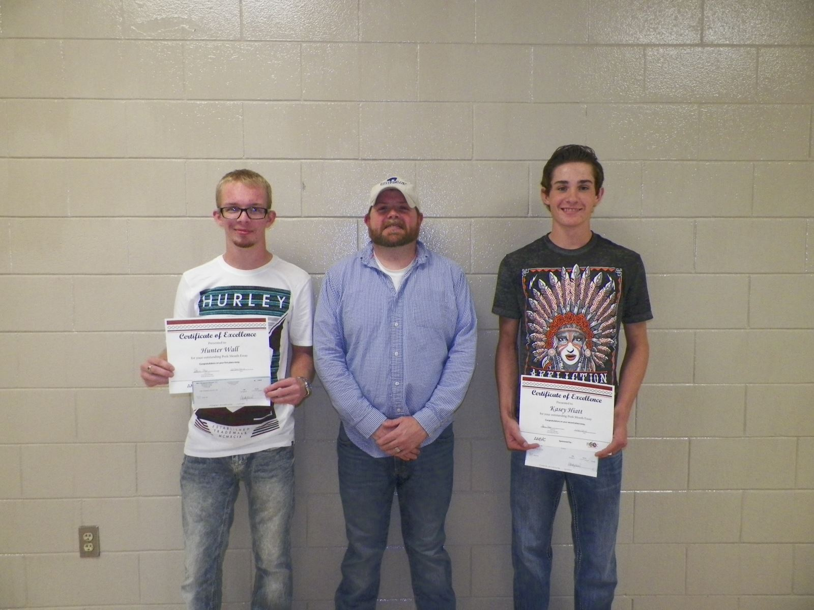 TMP essay winners