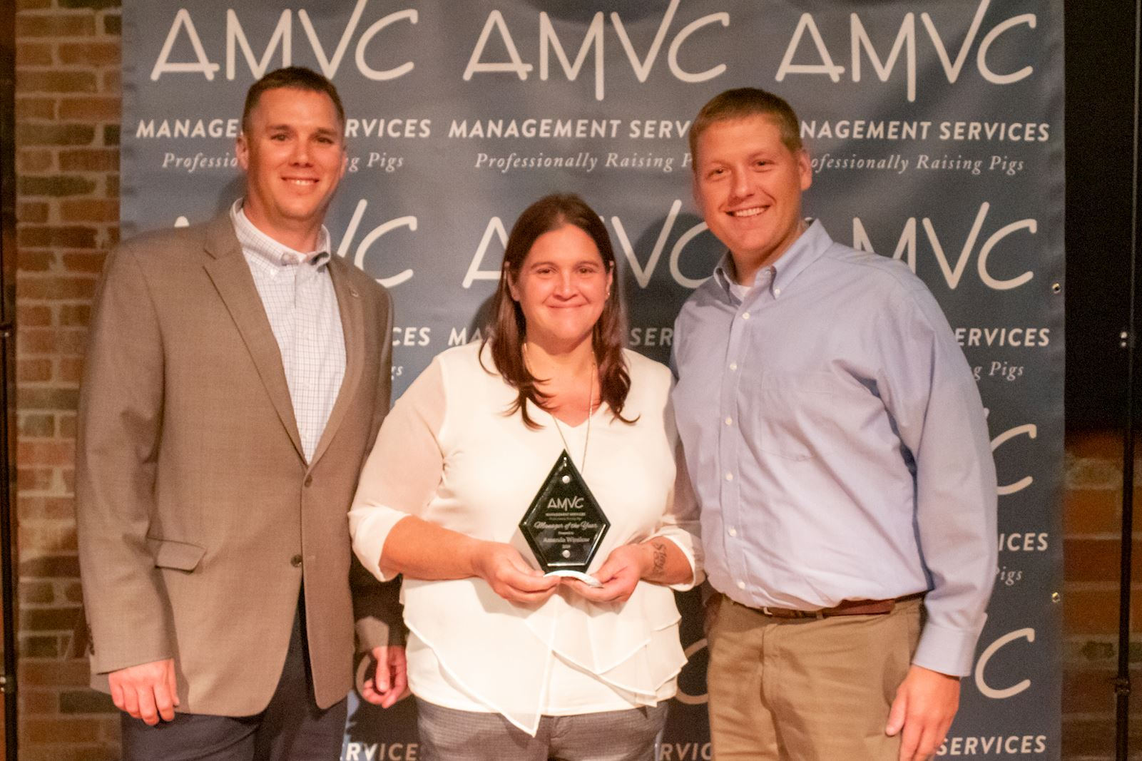 Amanda Winslow AMVC Manager of the Year