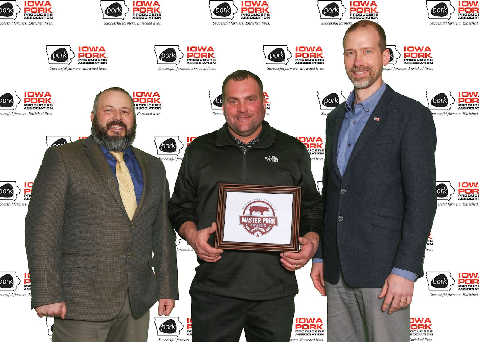 Schmidt is named Iowa Master Pork Producer