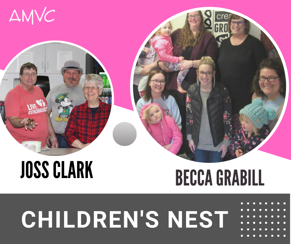 Children's Nest AMVC volunteers