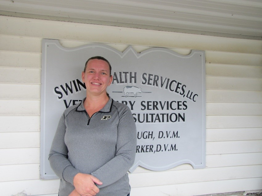 AMVC Swine Health Services welcomes Dr. Amy Woods.