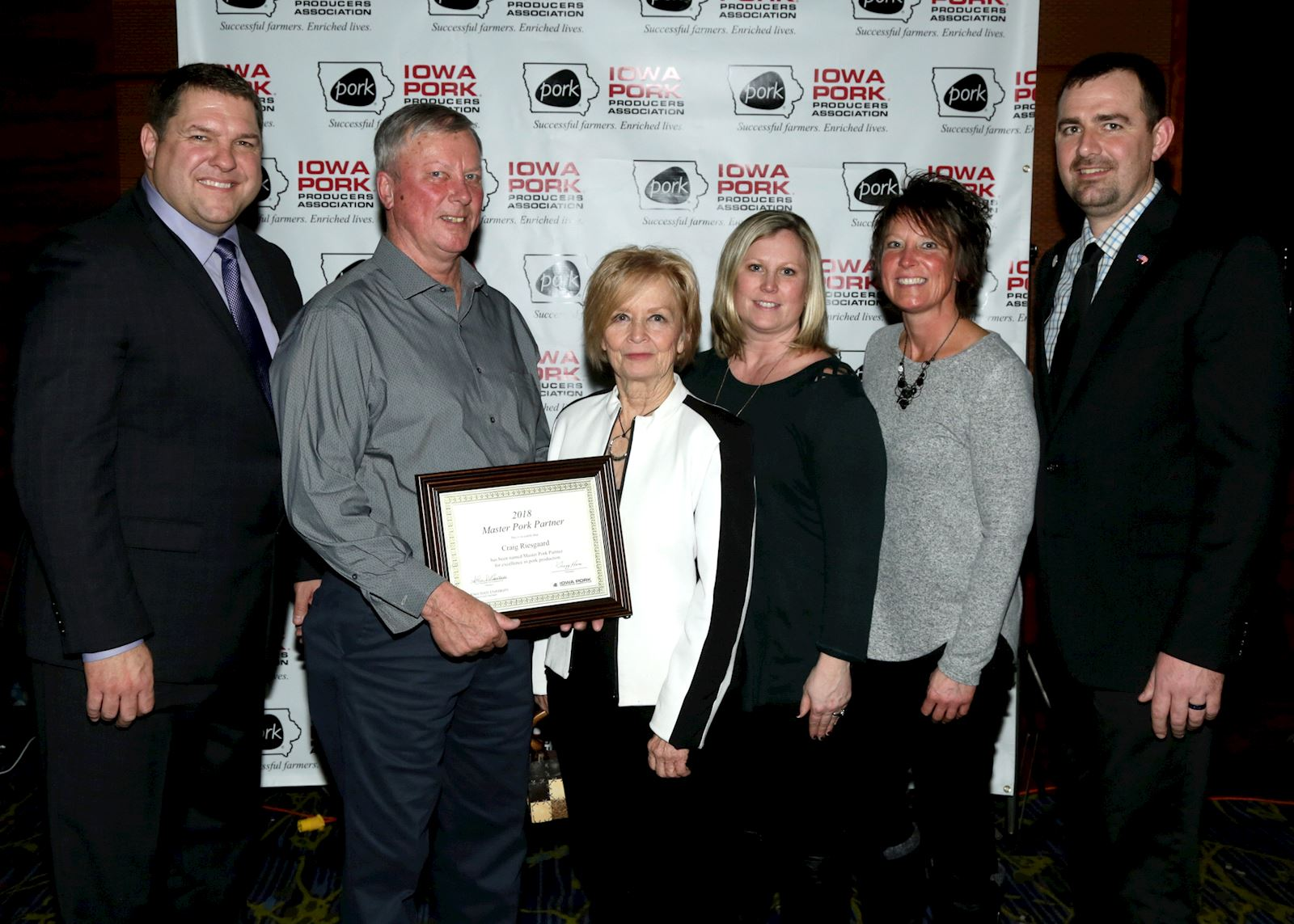 Riesgaard named Iowa Master Pork Partner