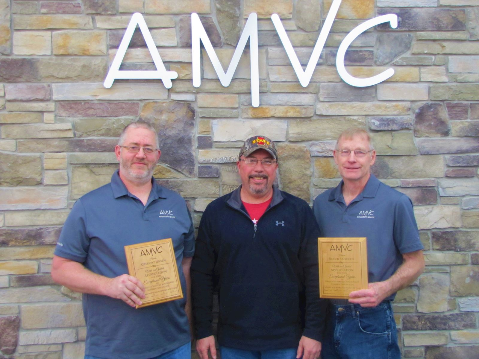 Jensen and Randeris celebrate 20 years with AMVC