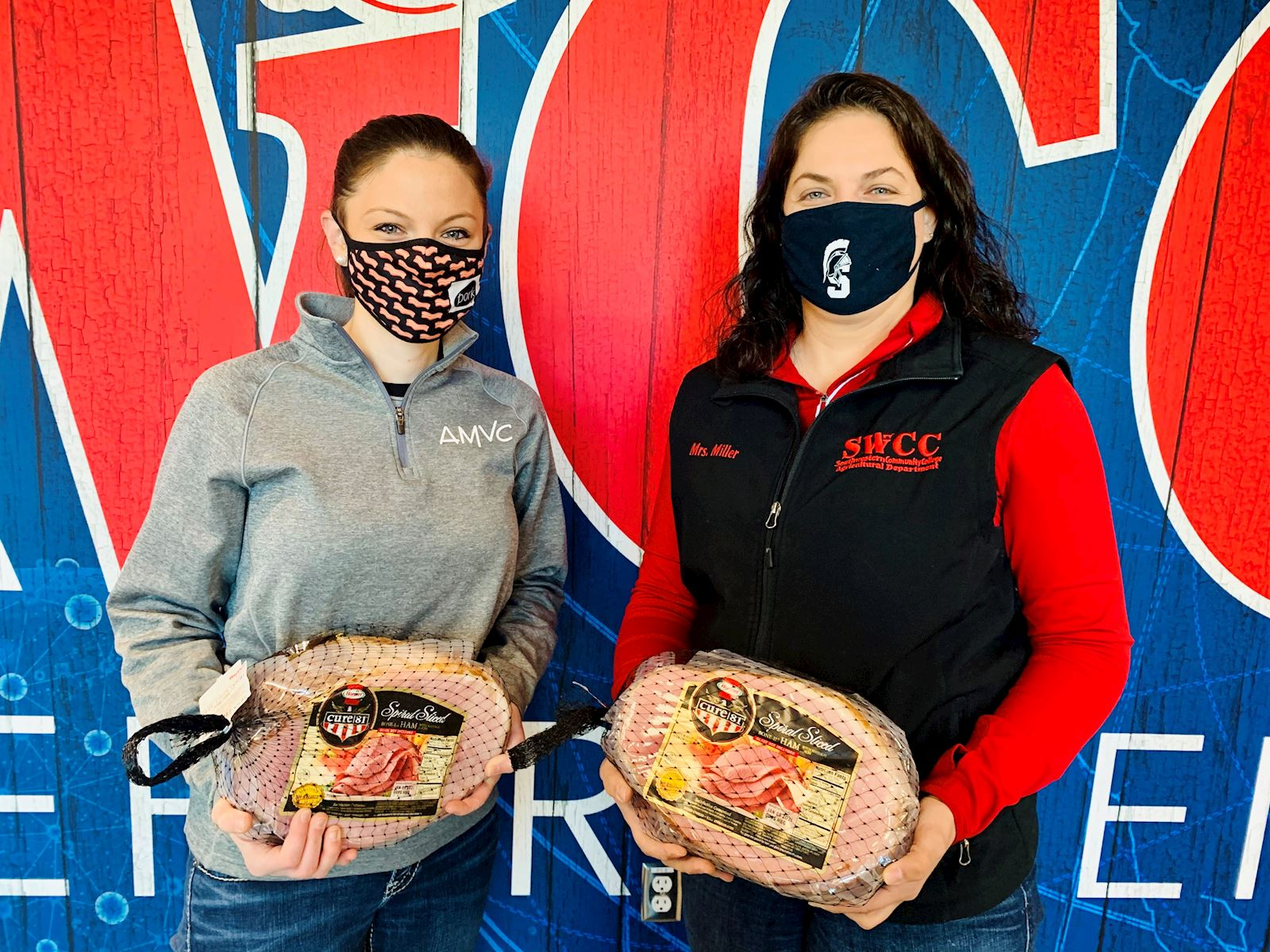 SWCC instructor receives hams