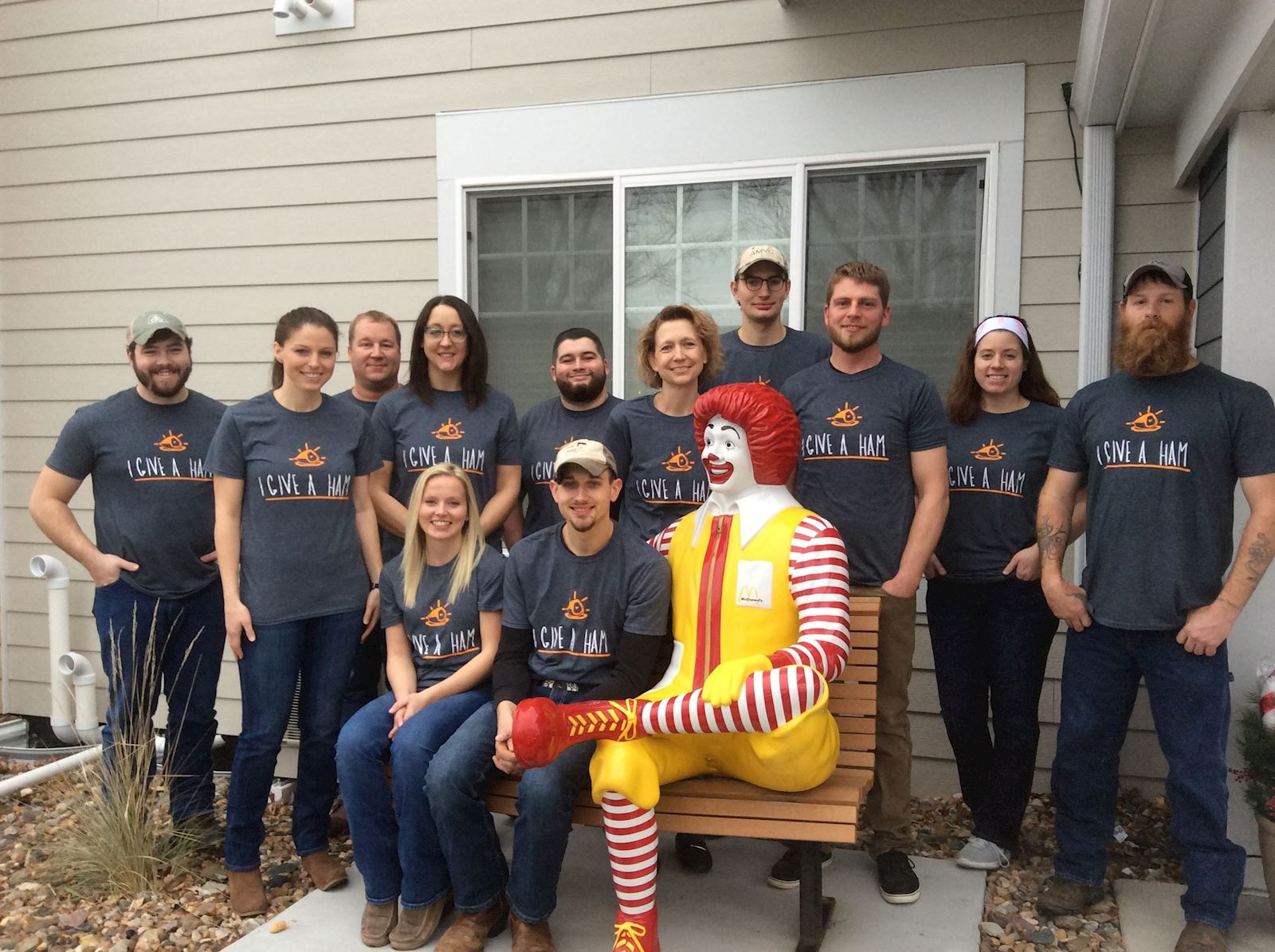 Pork meal brings smiles to Ronald McDonald House