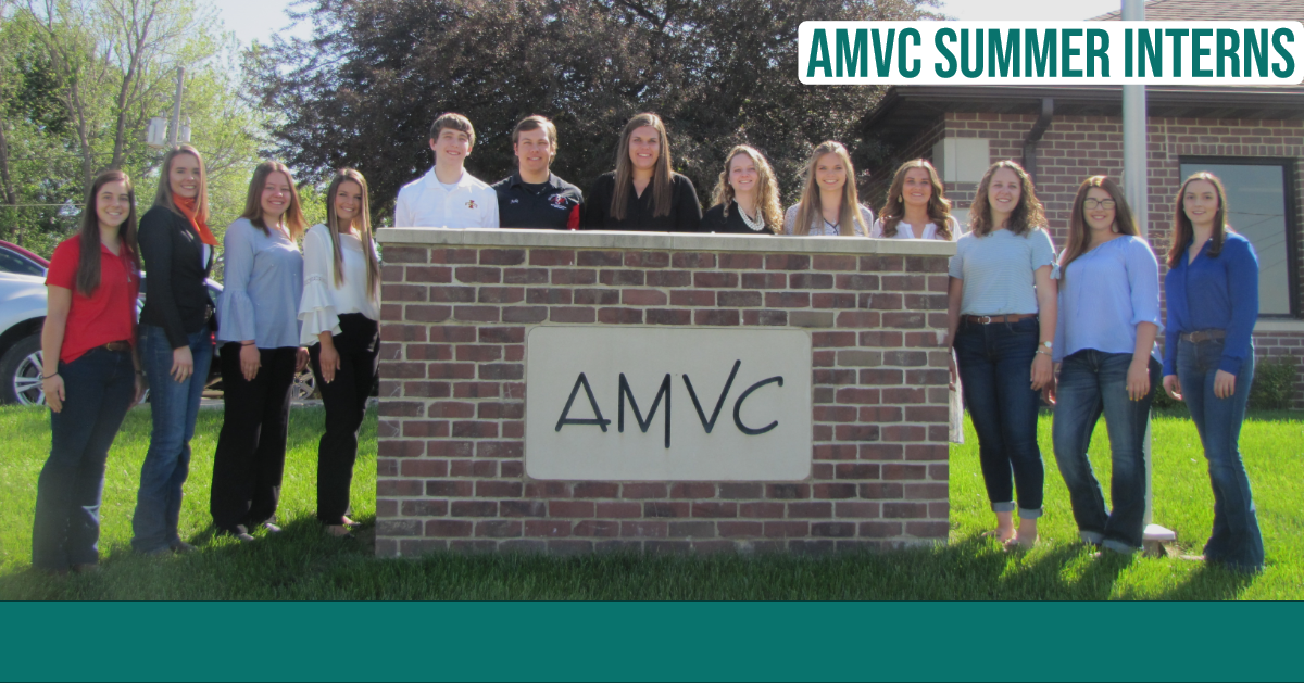 AMVC welcomes 13 interns to the system