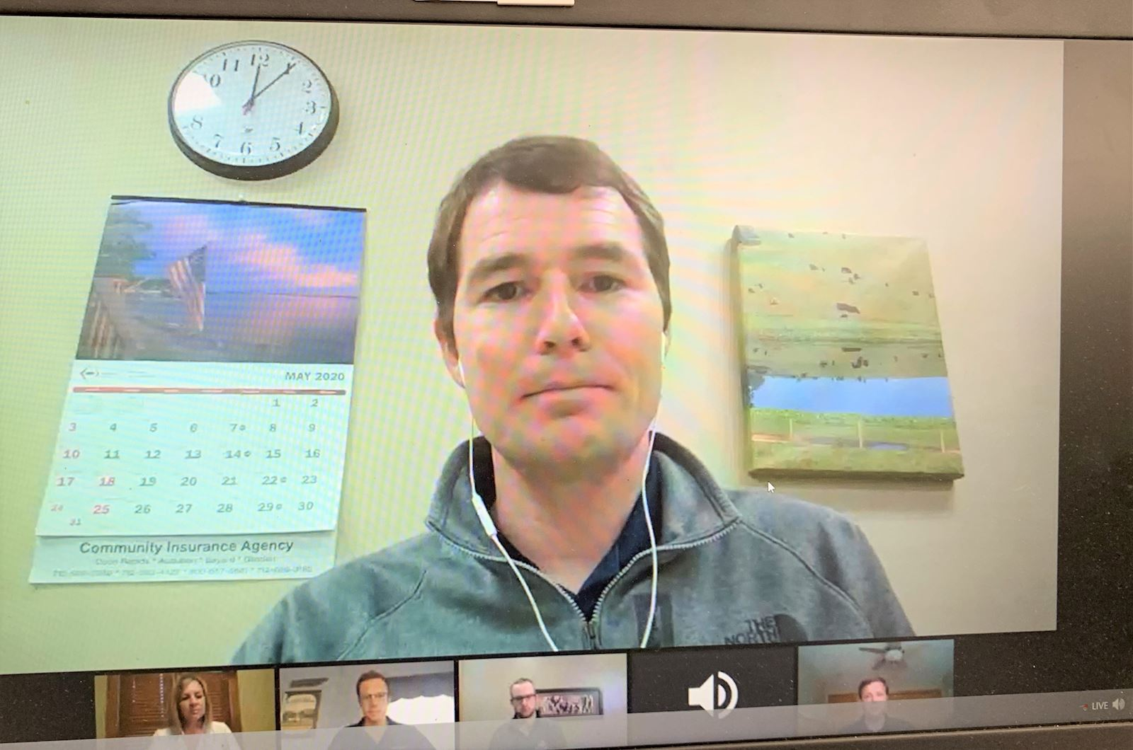 AMVC Veterinarians participate in Virtual Conference