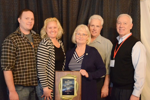 Surber Family recognized for Ohio Pork Industry Excellence