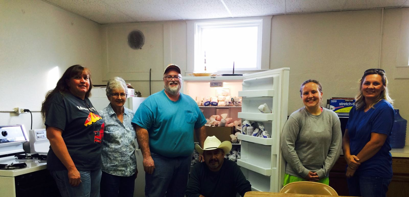 Local food bank receives pork from AMVC Wyoming
